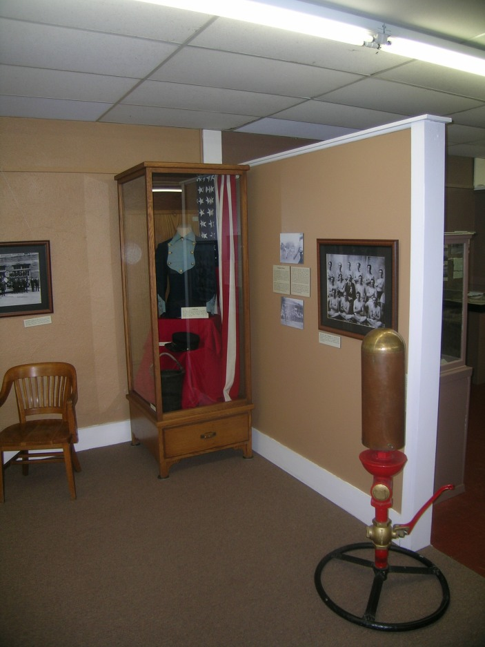 Pipestone Fire Department Exhibit
