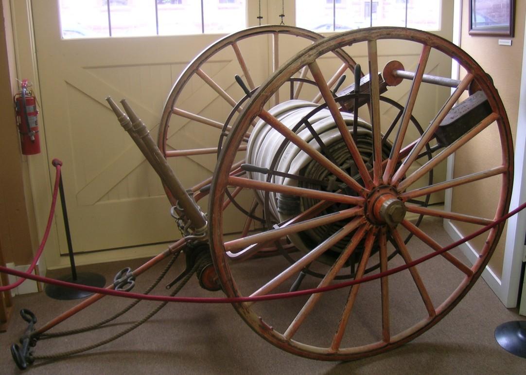Fire Hose Cart